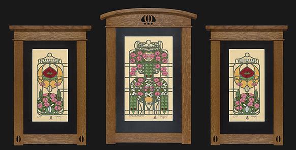 1-Camellia&RoseTriptych
