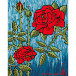 Stages of the Rose Acrylic on Canvas
