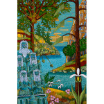 The Blue Gods Acrylic on Canvas