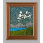 Rowena Plateau in a Driving Rain Acrylic on Canvas