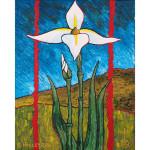 Gnostic Truth: The Iris Acrylic on Canvas