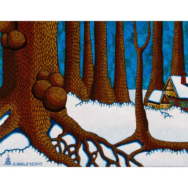 Where the Trees of Rogareth Grow Acrylic on Canvas