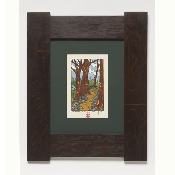 Forest Path Framed